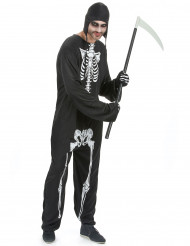 Disfarce esqueleto homem para Halloween