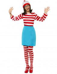 Disfarce Onde está o Wally?™ mulher