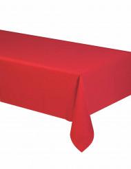 Toalha de mesa vermelha em papel