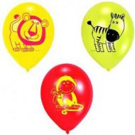 6 Balões safari
