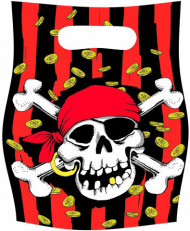 Sacos de festa de piratas