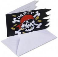 6 convites pirata
