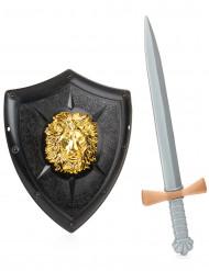 Kit cavaleiro para criança