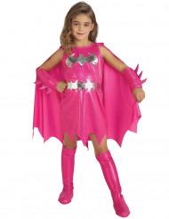 Disfarce Batgirl™ cor-de-rosa menina