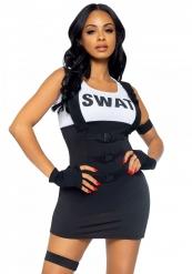 Disfarce SWAT sexy para mulher