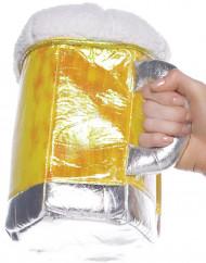 Mala em forma de caneca de cerveja