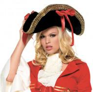 Chapéu de pirata mulher