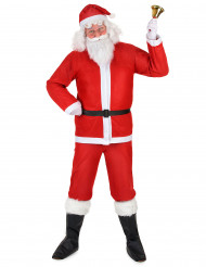 Disfarce de Pai Natal para adulto