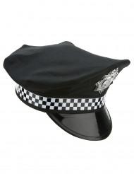 Boné de policia inglês adulto