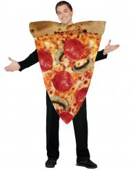 Disfarce de fatia de piza para adulto