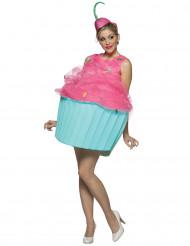 Disfarce cupcake para mulher