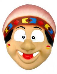 Máscara índio menino