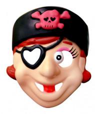 Máscara pirata - menina