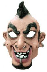 Máscara caricatura de punk adulto