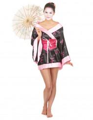 Disfarce geisha para mulher