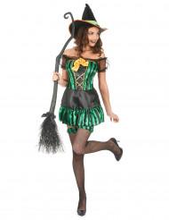 Disfarce bruxa mulher Dia das Bruxas