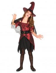 Disfarce bruxa menina Halloween