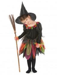 Disfarce bruxa criança Halloween
