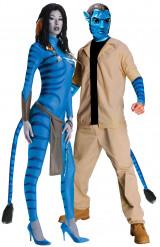 Disfarce de casal Neyriti e Jake Sully Avatar™
