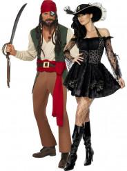 Disfarce para casal Pirata