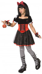 Disfarce princesa envenenada menina Halloween