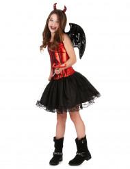 Disfarce de diabinha para menina