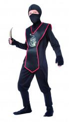 Disfarce de ninja para rapaz