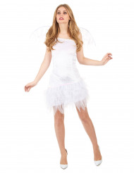 Disfarce anjo sexy mulher