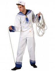 Disfarce de marinheiro homem