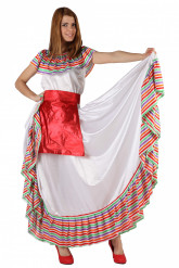 Disfarce de Mexicana para mulher
