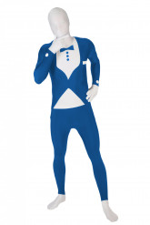 Disfarce Morphsuits™ traje azul para adulto