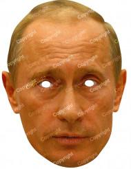 Máscara de cartão Vladimir Poutine