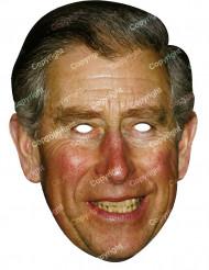 Máscara de cartão Príncipe Charles