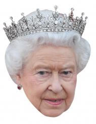 Máscara Rainha Elisabeth