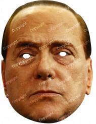 Máscara de cartão Silvio Berlusconi