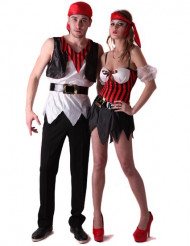Disfarce pirata casal!
