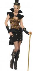 Disfarce vampira Steampunk mulher