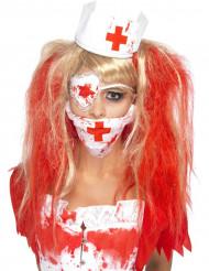 Kit enfermeira ensanguentada adulto para mulher