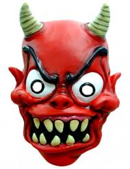 Máscara de demónio adulto Halloween