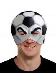 Mascarilha balão de futebol adulto