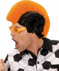 Peruca adepto cor de laranja homem