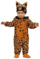 Disfarce leopardo bebé