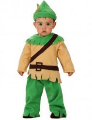 Disfarce de robin dos bosques para bébé