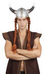 Peruca viking homem