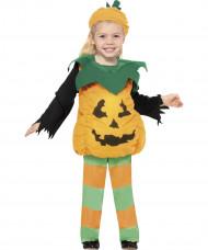 Disfarce abóbora criança Halloween