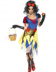 Disfarce princesa conto de fadas mulher Halloween