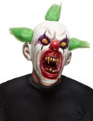 Máscara palhaço assustador adulto Halloween