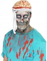 Cérebro com ligadura adulto Halloween