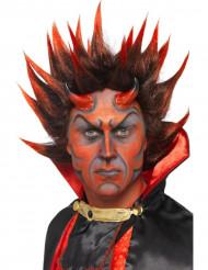 Peruca demónio adulto Halloween