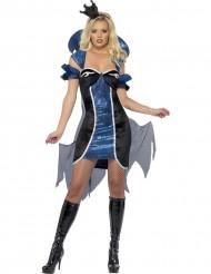 Disfarce rainha do inferno mulher Halloween